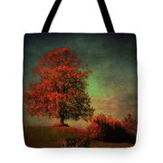 Majestic Linden Berry Tree Tote Bag