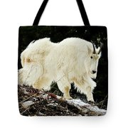 Majestic Mountain Goat Tote Bag
