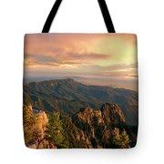 Majestic Mountain View Tote Bag