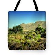 Majestic Slopes Tote Bag