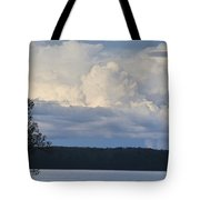 Majestic Storm Clouds  Tote Bag