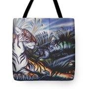 Majestic Tiger Tote Bag