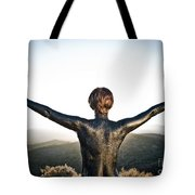 Majestic Wave Tote Bag
