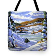 Majestic Winter  Tote Bag