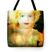Golden Curls Tote Bag