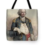 Major General Israel Putnam Tote Bag
