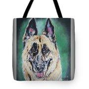 Major, The German Shepherd  Tote Bag