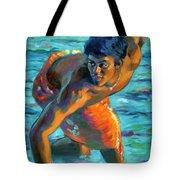 Makana Sunrise Tote Bag