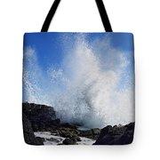 Makapu'u Lava Rock Splash Tote Bag