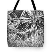 Make A Wish B / W Tote Bag