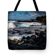 Makuu Cliffs Tote Bag