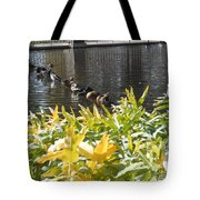 All My Ducks In A Row Tote Bag
