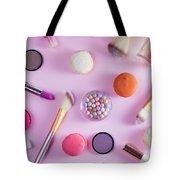 Make Up And Sweets Tote Bag