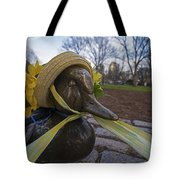 Make Way For Ducklings B.a.a. 5k Spring Bonnet Tote Bag