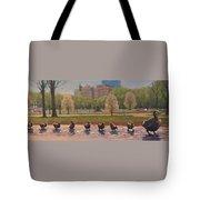 Make Way For Ducklings Tote Bag