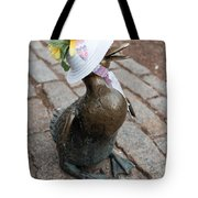Make Way For Ducklings Tote Bag
