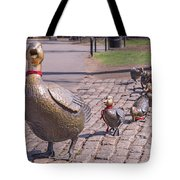 Make Way For The Ducklings Tote Bag