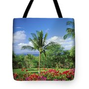 Makena Beach Golf Course Tote Bag