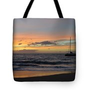 Makena Sunset Tote Bag