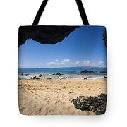 Makena View From Secret Beach Tote Bag