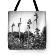 Makeshift Scarecrows Tote Bag