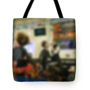Makeup And Hair Artists Competition Blur Background Tote Bag