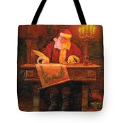 Making A List Tote Bag by Greg Olsen