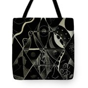 Making Points In Multiple Perspectives - An Inversion Tote Bag