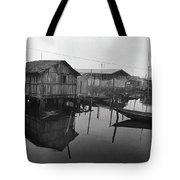 Houses On Stilts Tote Bag