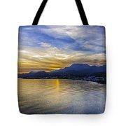 Makrygialos Sunset Tote Bag
