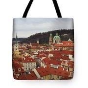 Mala Strana Rooftops. Prague Spring 2017 Tote Bag