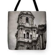 Malaga Cathedral Tote Bag