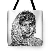 Malala Yousafzai Tote Bag