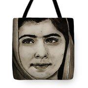 Malala Yousafzai- Teen Hero Tote Bag