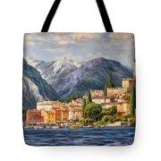 Malcesine Castle, Lago Di Garda Tote Bag