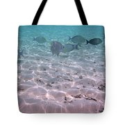 Maldives School Of Tropical Fish Tote Bag