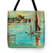 Maldon, England, Sailing Boats Tote Bag