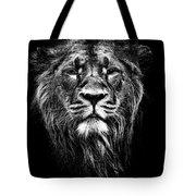 Male Asiatic Lion Tote Bag