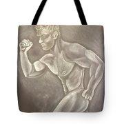 Male Beauty Tote Bag