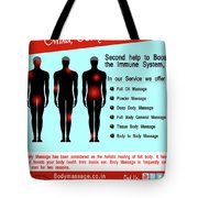 Male Body Massage In Ncr Tote Bag