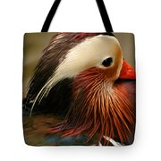 Male Mandarin Duck China Tote Bag
