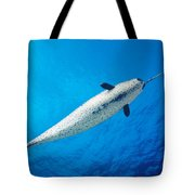 Male Narwhal Tote Bag