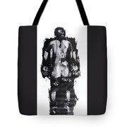 Male Nude Back Tote Bag