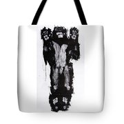 Male Nude Front Tote Bag
