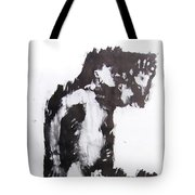 Male Nude Side Tote Bag
