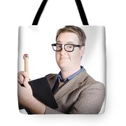 Male Office Pa Writing In Diary. Event Planner Tote Bag by Jorgo Photography - Wall Art Gallery