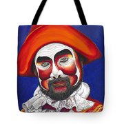 Male Pirate Carnival Figure Tote Bag