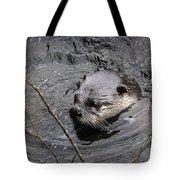 Male River Otter Tote Bag