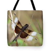 Male Widow Skimmer Dragonfly #3 Tote Bag