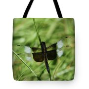 Male Widow Skimmer Dragonfly #4 Tote Bag